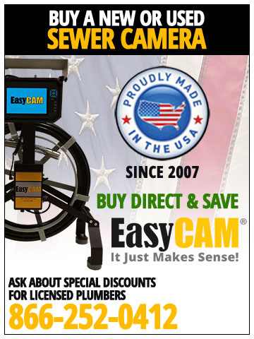 EasyCam Sewer Camera Inspection Equipment